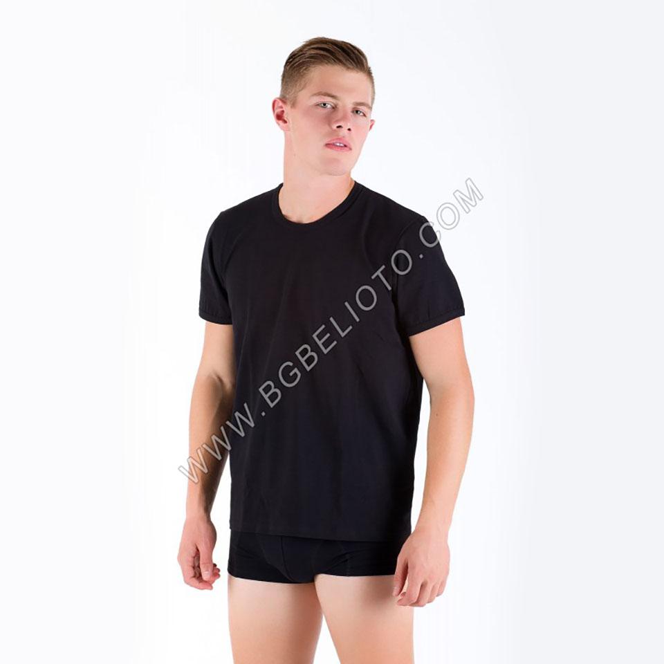 Памучна тениска с къс ръкав БРАТЯ ГЬОКОВИ
