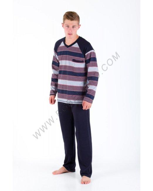 Българско бельо - Мъжка пижама Каре - Онлайн магазин БГ Бельото