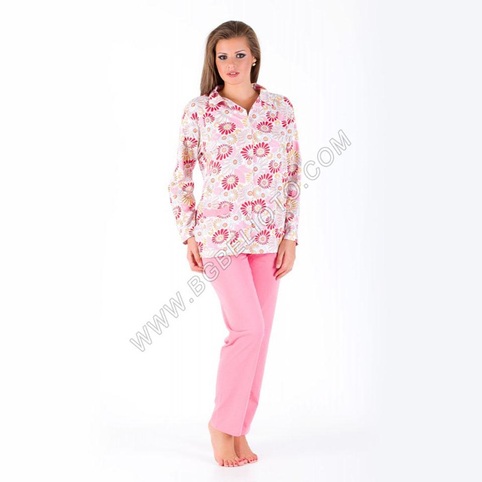 Дамски пижами - Дамска пижама с копчета - БГ Бельото