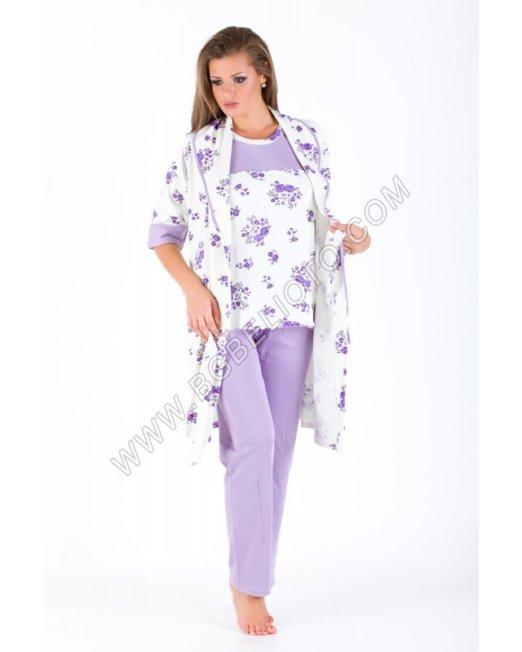 Български пижами - Сатенени пижами от БГ Бельото